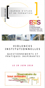 Violences institutionnelles EESTS Observatoire